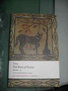 Livy - The Rise of Rome - Books One to Five Kitchener / Waterloo Kitchener Area image 1