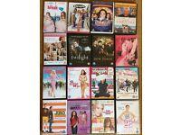 16 DVDs