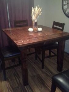 Rustic Kitchen table blowout