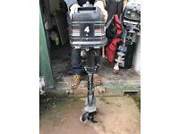 Mercury 4hp 2 stroke engine