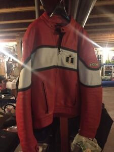 Lg/xl icon leather jacket with armour