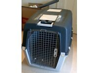 XL Dog Crate- Gulliver Mega 7. Used once to transport our pup into the UK.