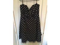 Debenhams polka dress size 18/20