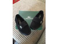 Toddlers size 5 plimsoles