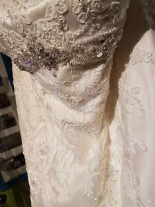 David Tutera Wedding Dress- Size 18
