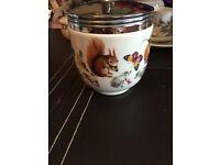 Royal Worcester Cookie jar