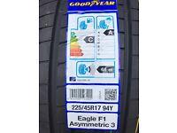 Cheap New Tyres - Good Year Eagle F1 225/45 R17 94Y