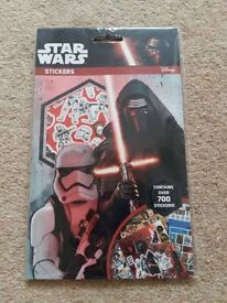 Star Wars Stickers New over 700 stickers