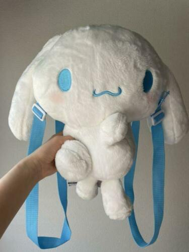 "Cinnamoroll Sanrio Plush Toy Doll Backpack Rucksack 14.5"" TAG"