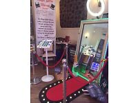 Photo Booth Hire - Magic Mirror - perfect for Weddings, Birthdays, Christmas & special events