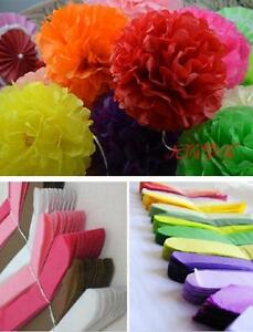 Tissue-Paper-Pom-Poms-Flower-Balls-Wedding-Birthday-Party-Shower-Decor