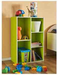 New Buzz 5 Shelf Storage Unit (Fantastic Furniture) - green Maroubra Eastern Suburbs Preview
