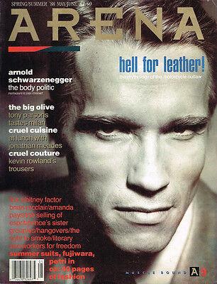 ARENA #9 1988 ARNOLD SCHWARZENEGGER Amanda Pays WHITNEY HOUSTON Mica Paris @VGC@
