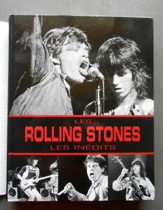 Livre les Rolling Stones - Les Inédits