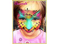 Fun-Tastic Party Entertainer - Face Painter - Glitter Tattoo - Clawn Entertainment - Ballon Modellin