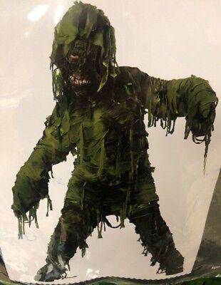 New Child Swamp Creature Green Halloween Costume Costume Size Medium 8-10 - Swamp Creature Costume