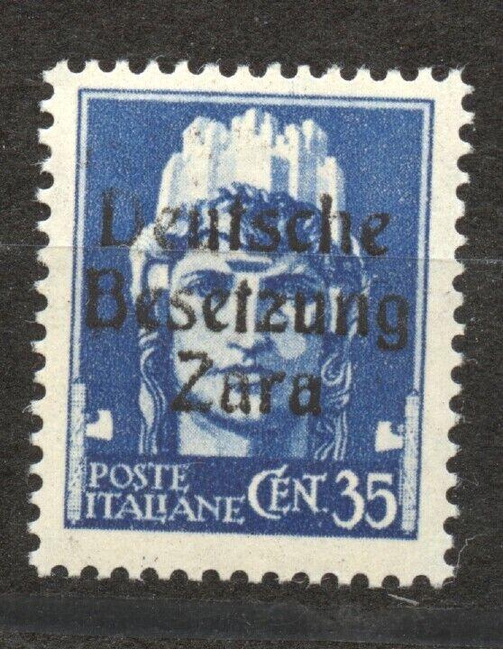 German Occupation Zara, Mi.7 , MNH,  - $150.00