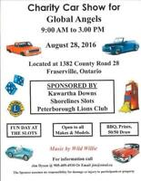 Charity Car Show for Global Angel Charity
