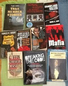 True crime books $5; 5/$20; ACTUAL INNOCENCE, SHATTERED HOPES