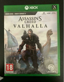 Assassin's creed Valhalla xbox one or x/s mint