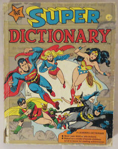The SUPER DICTIONARY 1978 RARE 1st Ed. HC Illustrated