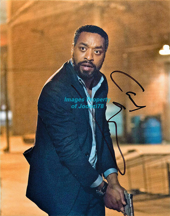 *THE LION KING* Chiwetel Ejiofor Signed 8x10 Photo COA Maleficent Disney