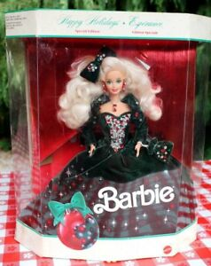 1991 Vintage Happy Holidays Barbie Doll