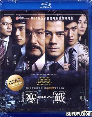 Cold War Blu-ray 2013 PG Crime Detective Aaron Kwok Tony Leung Eddie Pang