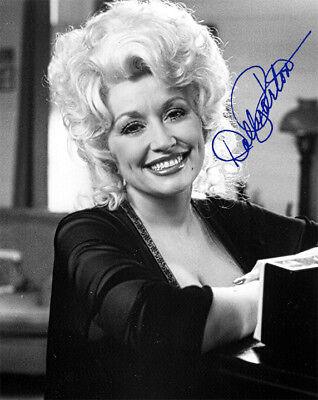 DOLLY PARTON 1980s Star Singer Actress Entrepreneur Photograph Autograph 8x10 RP
