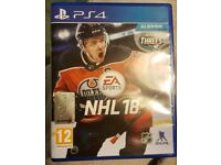 NHL 18 PS4 game for sale