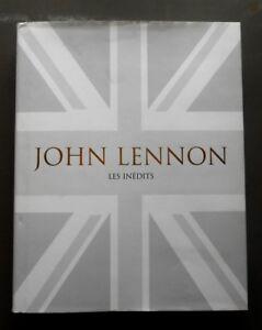 Livre John Lennon - Les Inédits