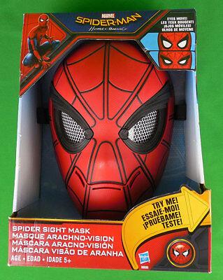 Marvel Spider-Man moving eyes sight mask with Arachno-vision Hasbro