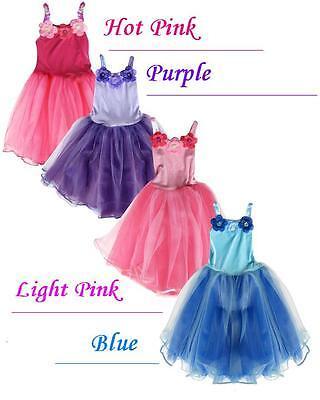 Rosa Prinzessinnenkleid Paillette Blumenmädchen Kinder Mädchen Halloween - Blumen Mädchen Kostüm Halloween