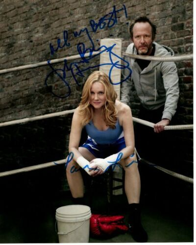LAURA LINNEY & JOHN BENJAMIN HICKEY signed autographed THE BIG C photo