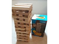 Giant Tower/'Jenga' style game