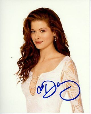Debra Messing Signed Autographed Photo