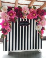 Kate Spade Floral / Flower Wall Backdrop for Rent