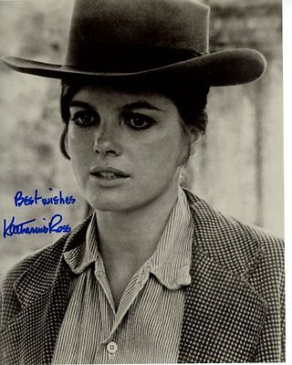 Katharine Ross Signed Butch Cassidy   The Sundance Kid Etta Place Photo