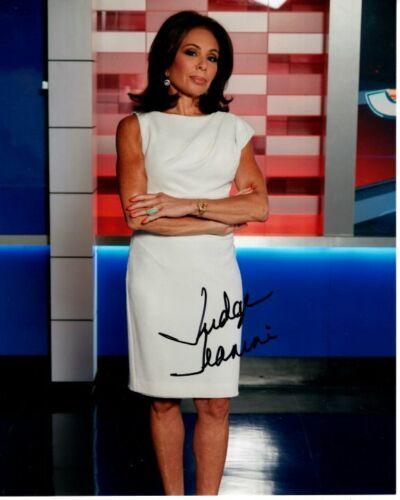 JUDGE JEANINE PIRRO signed autographed 8x10 FOX NEWS photo