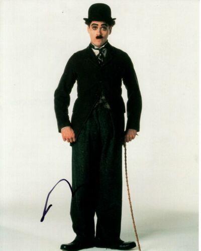 ROBERT DOWNEY JR. signed autographed CHARLIE CHAPLIN photo