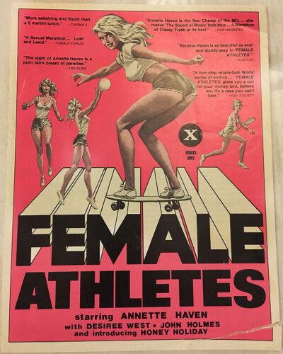 FEMALE ATHLETES!