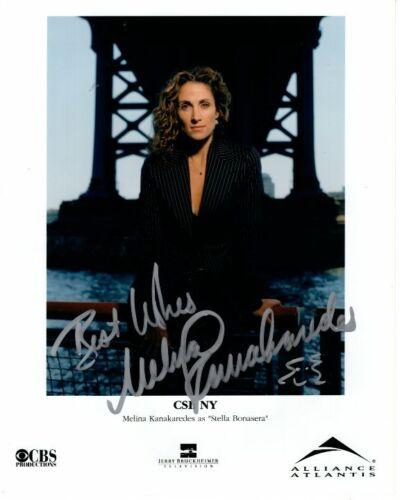 MELINA KANAKAREDES signed autographed CSI: NY STELLA BONASERA photo