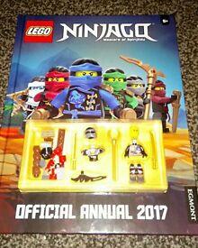 Lego Ninjago Cole Minifigure and 2017 Annual New