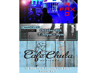 Chandelier Sessions at CafeChula host Radfax