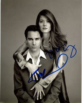Eric Mccormack   Debra Messing Signed Autographed Will   Grace Photo