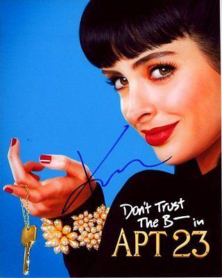 KRYSTEN RITTER Autographed DON'T TRUST THE B---- IN APARTMENT 23 CHLOE (Don T Trust The B Apartment 23)