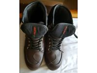 Motorcycle boots Buse size 7 BN
