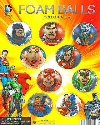 200 Vending Machine 2 Capsule Toys - 49mm Self Vending Dc Comics Foam Balls