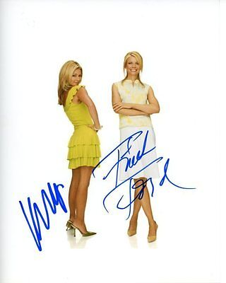 Kelly Ripa   Faith Ford Signed Autographed Faith And Hope Photo
