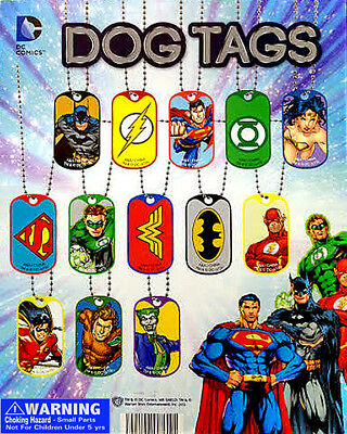 Vending Machine 1.00 Capsule Toys - Dc Comic Dog Tags